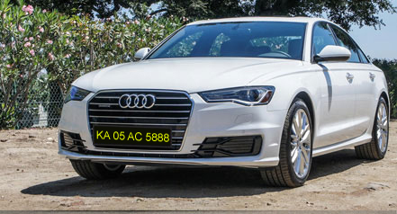 Self drive car hire audi a6 bangalore