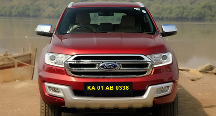 Self Car hire ford-endover bangalore