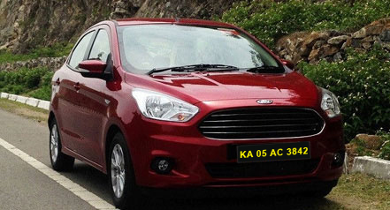 ford aspire self drive bangalore