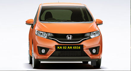 honda jazz self drive