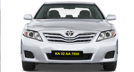 Self Car hire toyota camry bangalore